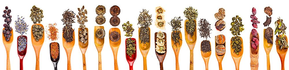 Sampling of Chinese herbs